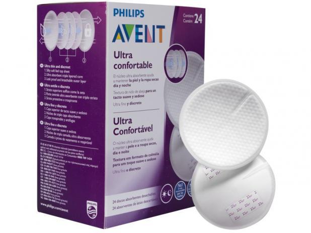 Absorvente Descartável para Seios 24 Un -  Philips Avent
