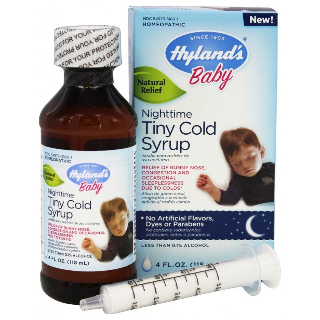 Alívio dos Sintomas de Resfriados Noturno - Hyland's Baby