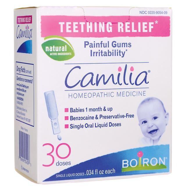 Alívio Primeiros Dentinhos Do Bebê C/ 30 - Camilia Da Boiron