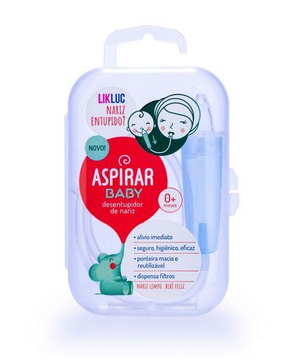 Aspirador Nasal com estojo Aspirar Baby - Lik Luc