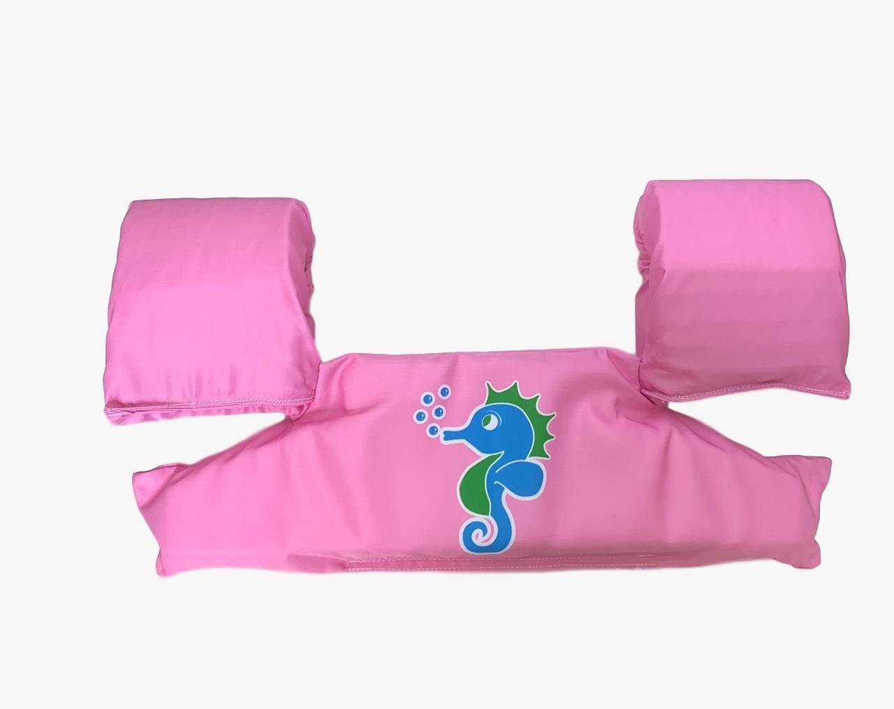 Boia Infantil  Colete Rosa - Ecoeplay