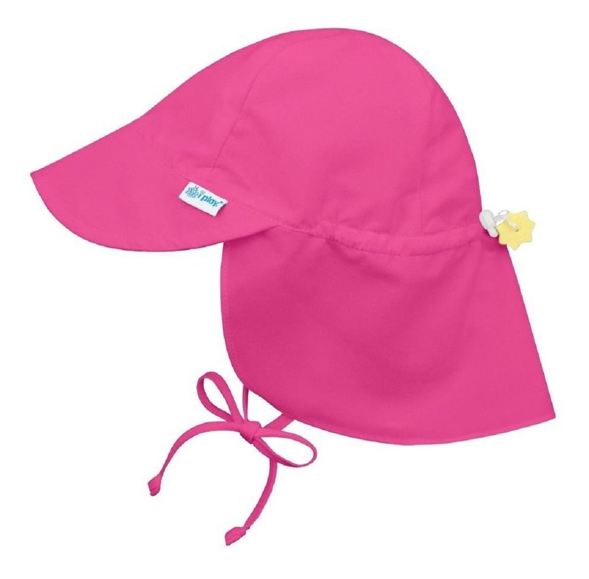 Chapéu de Banho Infantil Australiano com FPS +50  Pink - iPlay