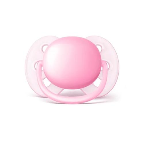Chupeta Ultra Soft Lisa Menina 0-6m -  Avent