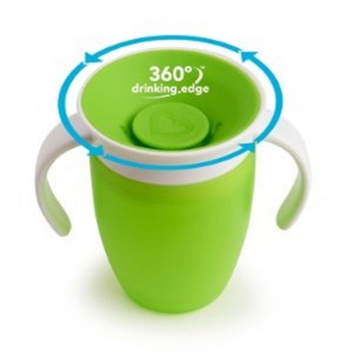Copo de Treinamento 360 Verde - Munchkin