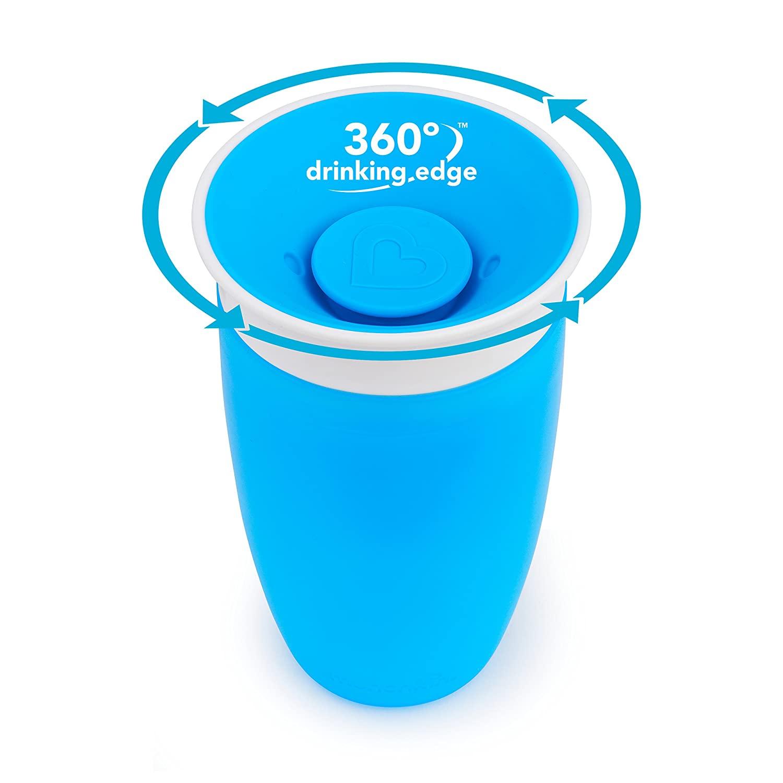 Copo de Treinamento 360 Azul 12M+ - Munchkin
