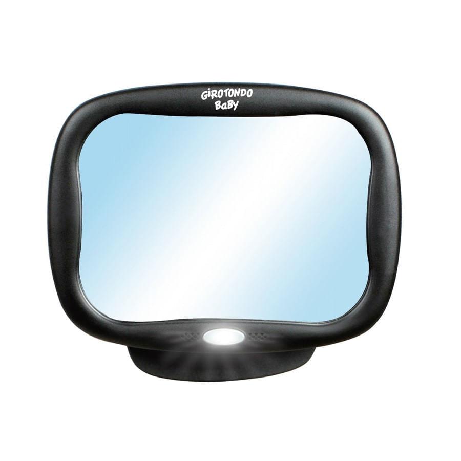 Espelho Retrovisor para Carro com LED e Controle Remoto - Girotondo