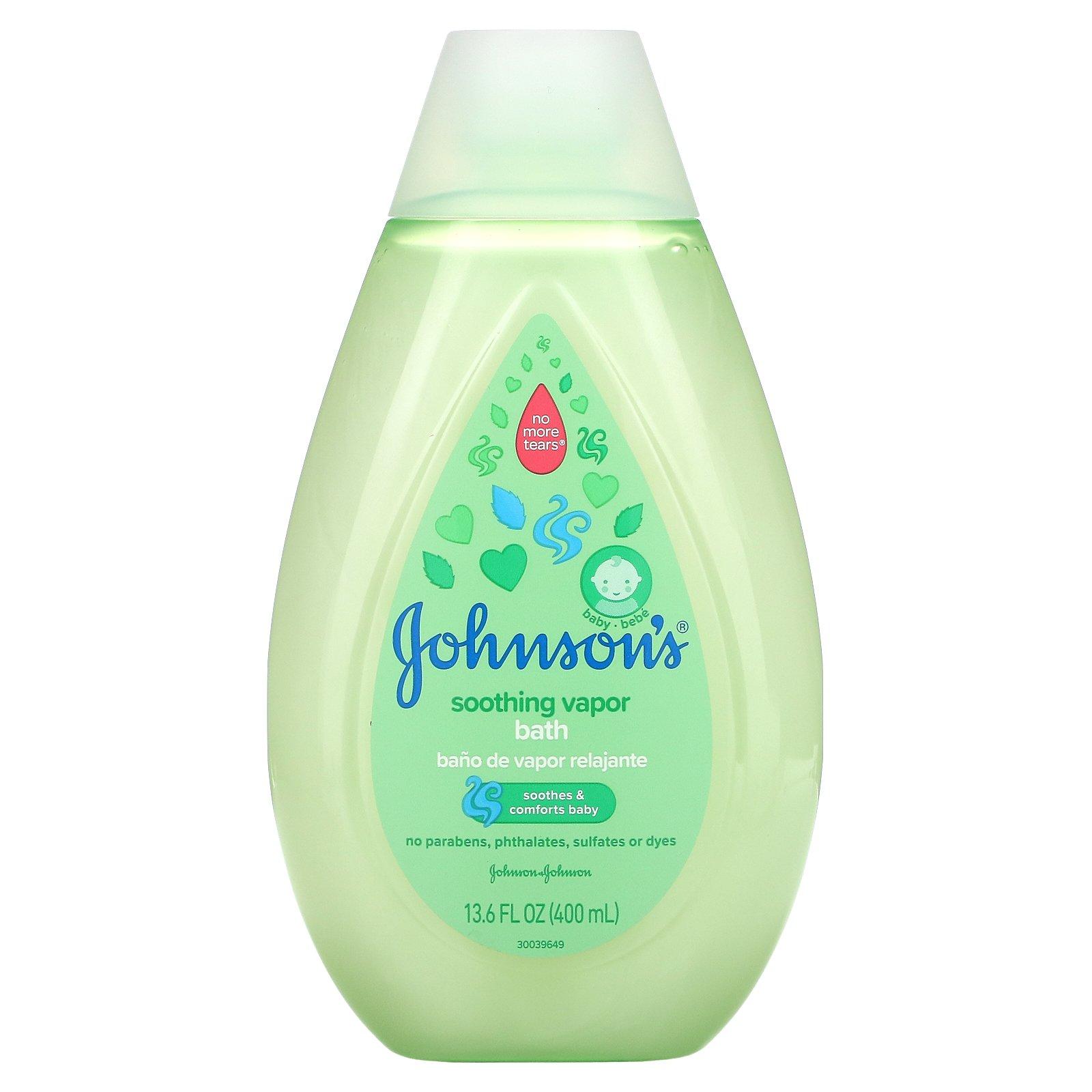 Johnson's Soothing Vapor Bath (400ml)