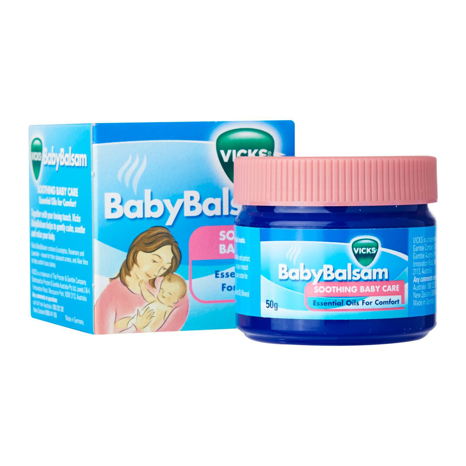 Kit Vapor Bath Johnsons + Vick Baby Rub + Nosefrida + Boogie