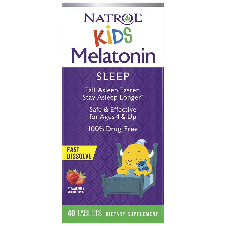 Melatonina  1mg (40Tabs)  Kids - Natrol
