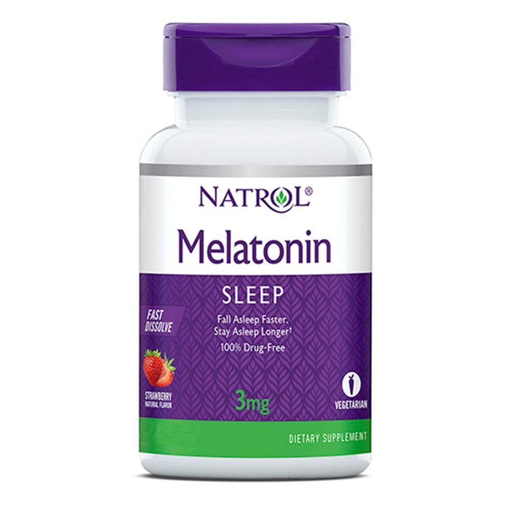 Melatonina 3mg (150Tabs) Sublingual - Natrol
