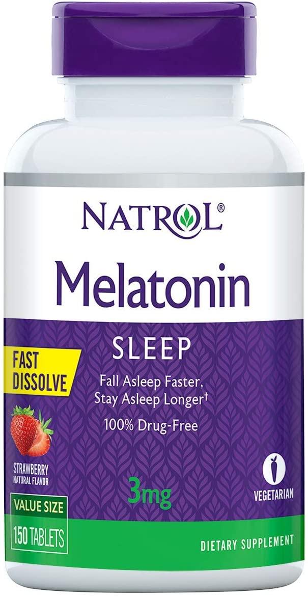 Melatonina Sublingual 3mg (150Tabs) - Natrol