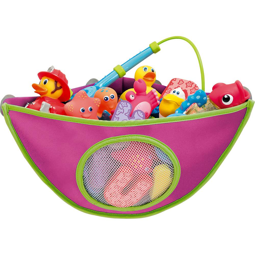Organizador de Brinquedos de Banho Rosa - Munchkin