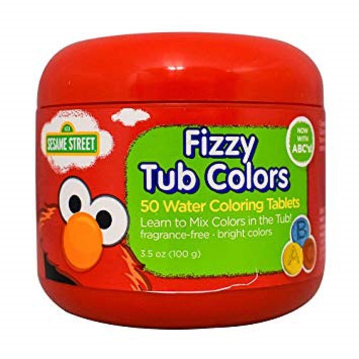 Pastilhas Coloridas para Banho 50 UN - Fizzy Tub Color