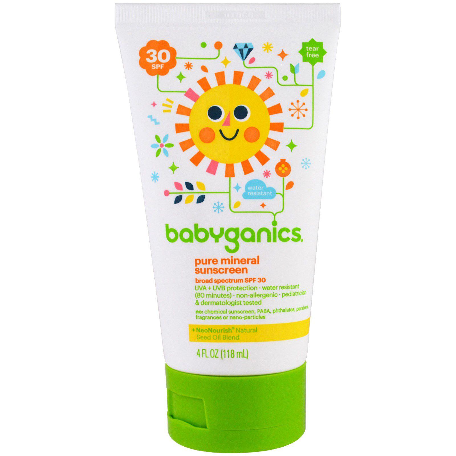 Protetor Solar 30 SPF Orgânico 118ml  - Babyganics