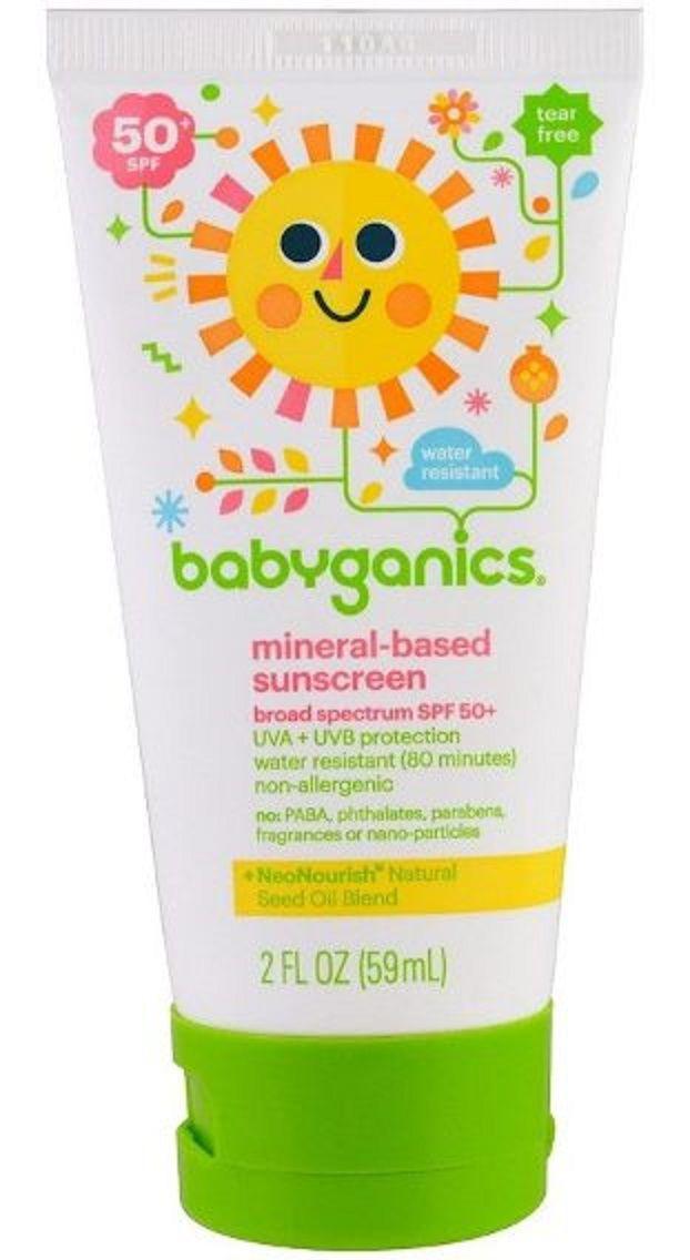 Protetor Solar 50 SPF Orgânico 59ml  - Babyganics