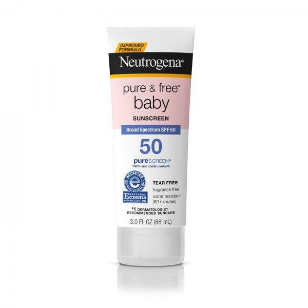 Protetor Solar Baby SPF 60 - Neutrogena