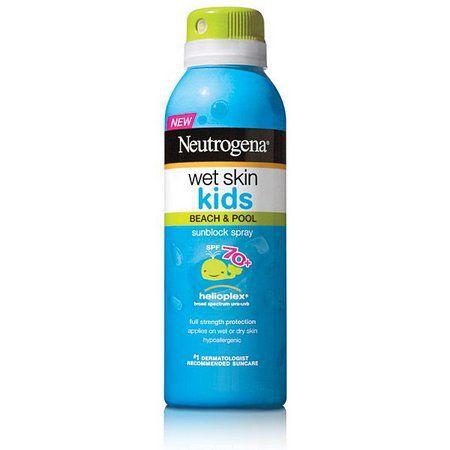 Protetor  Solar  Kids Wet Skin FPS 70 (Spray) - Neutrogena