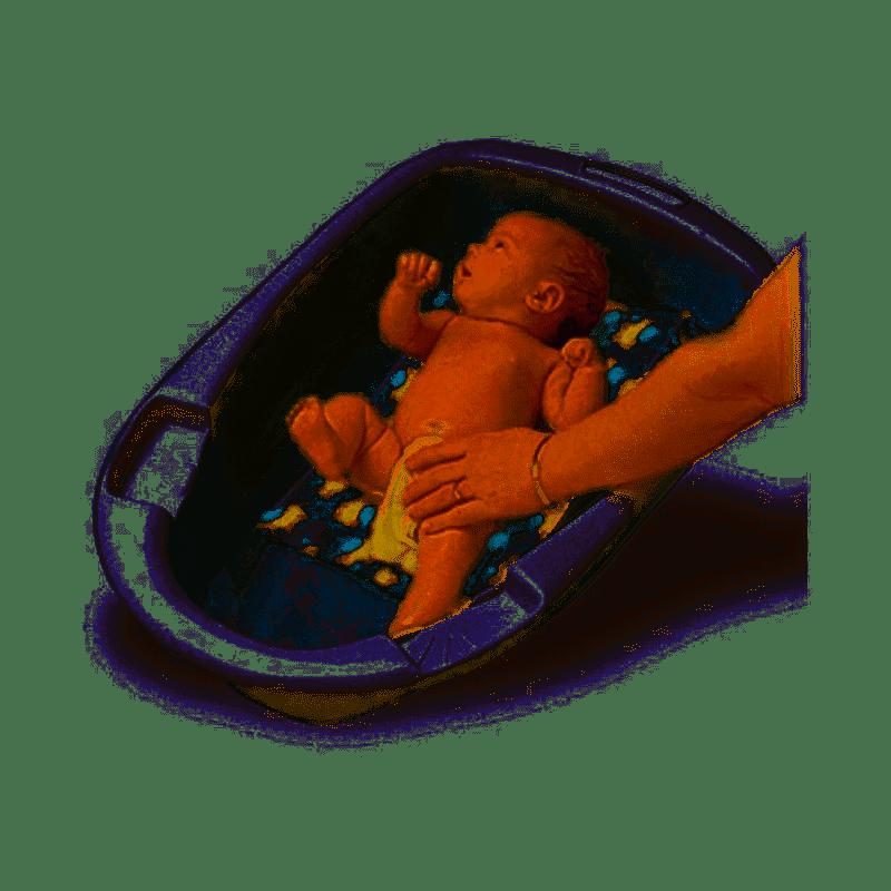 Suporte para Banheira de Bebê Patinhos Bathe Eze - Jolly Jumper