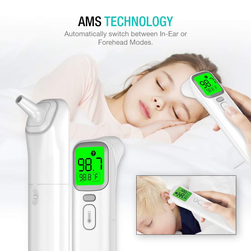 Termômetro Digital Infra 4-1 Testa/Ouvido/Objetos
