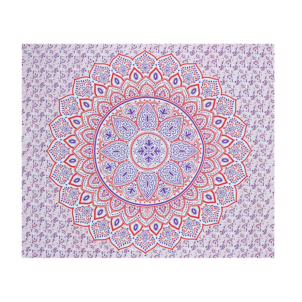 Bed Cover Casal Mandala Sol