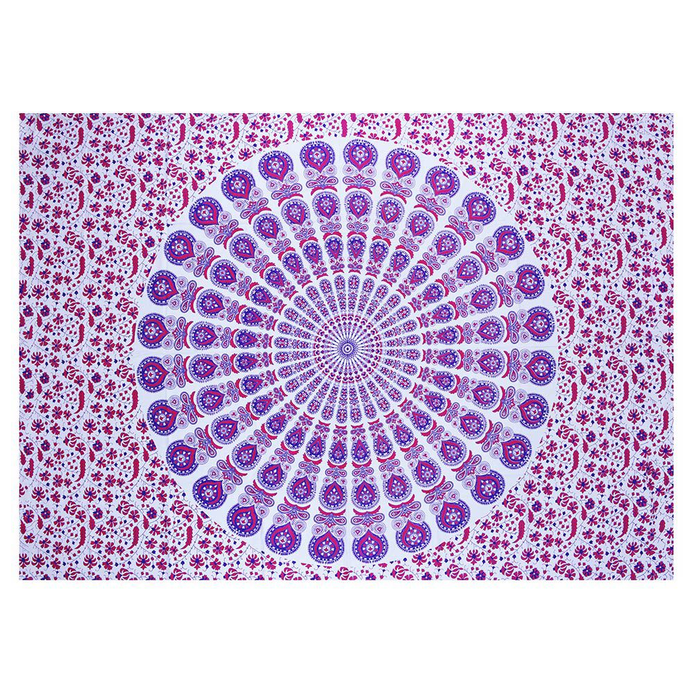 Bed Cover Com Capa de Almofada Mandala Pavão Color