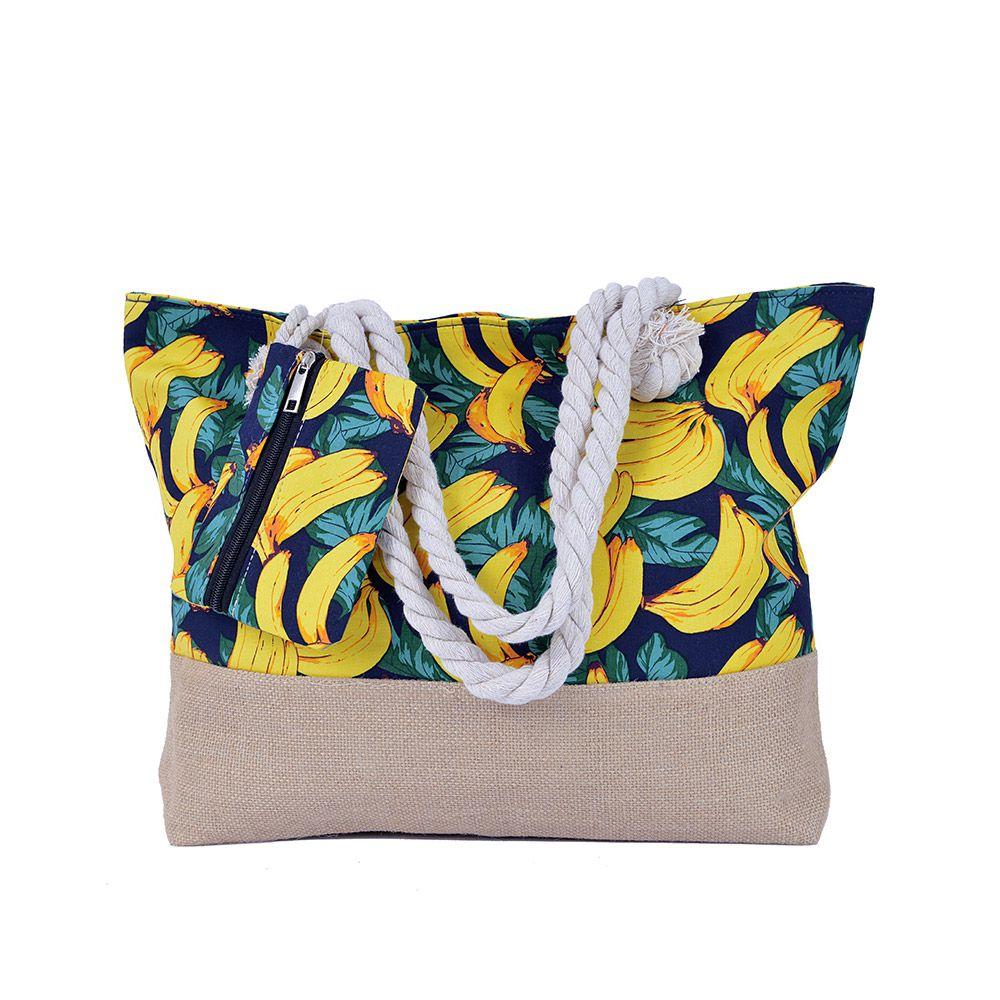 Bolsa de praia Banana Com Cordão
