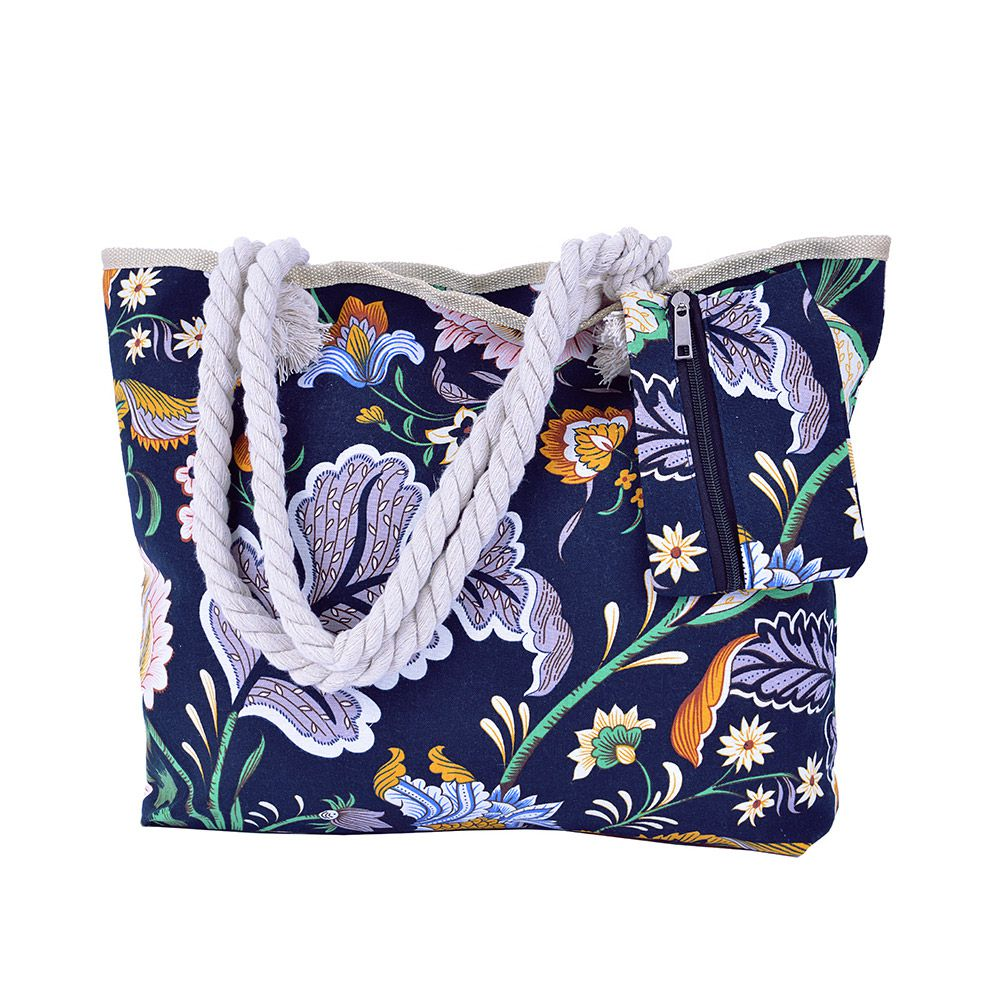 Bolsa de praia Flores Arum
