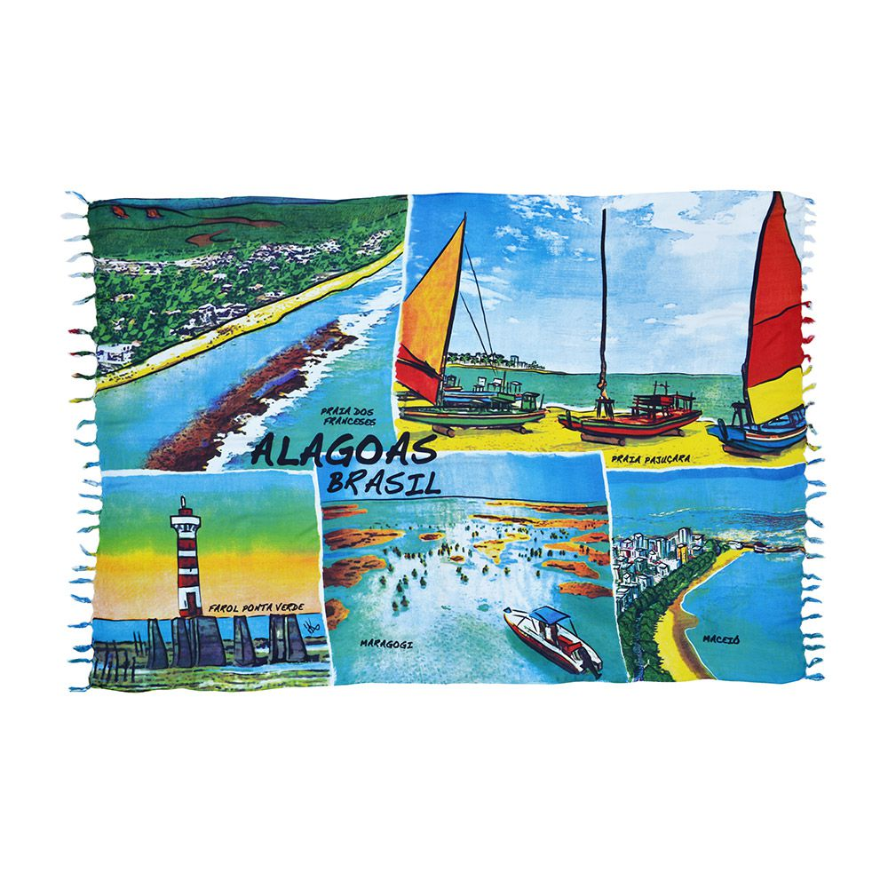 Canga Alagoas Aquarela