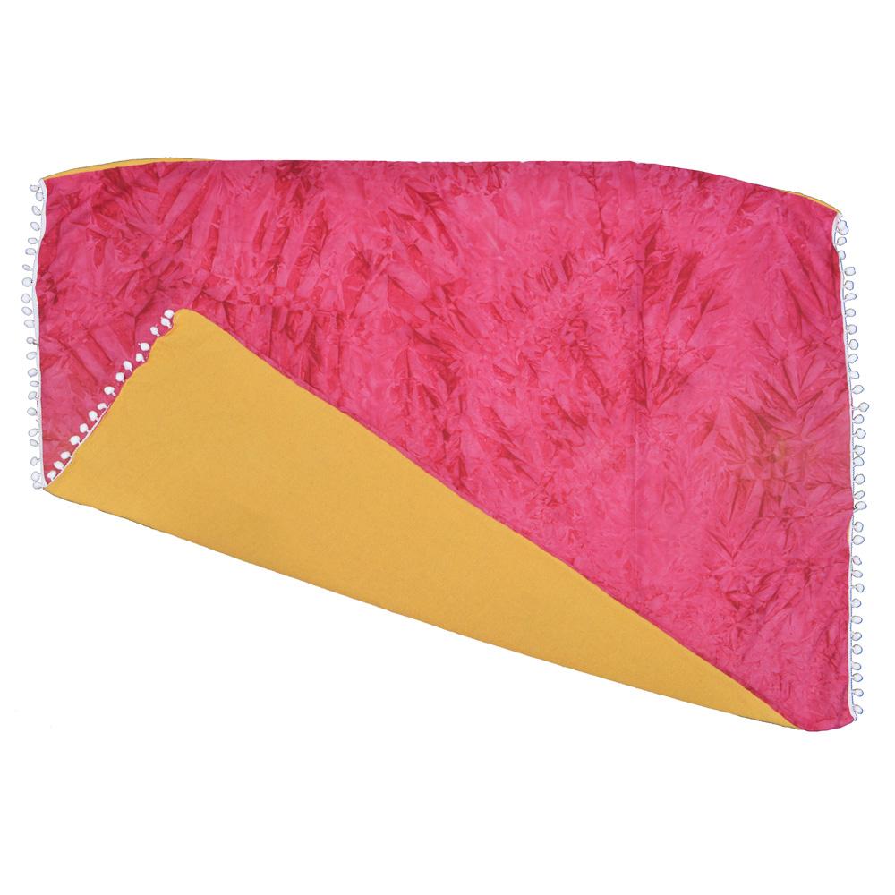 Canga atoalhada Tie Dye Rosa