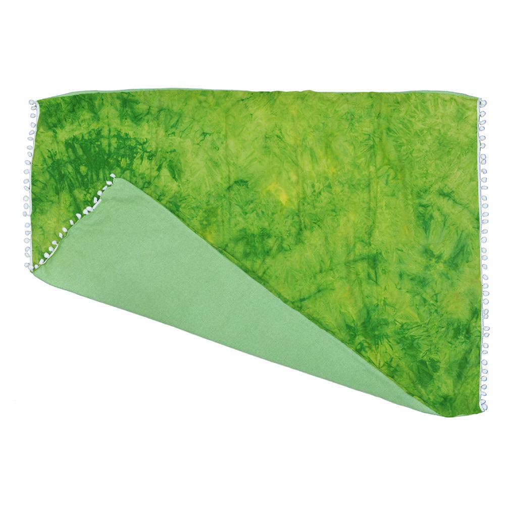 Canga atoalhada Tie Dye Verde