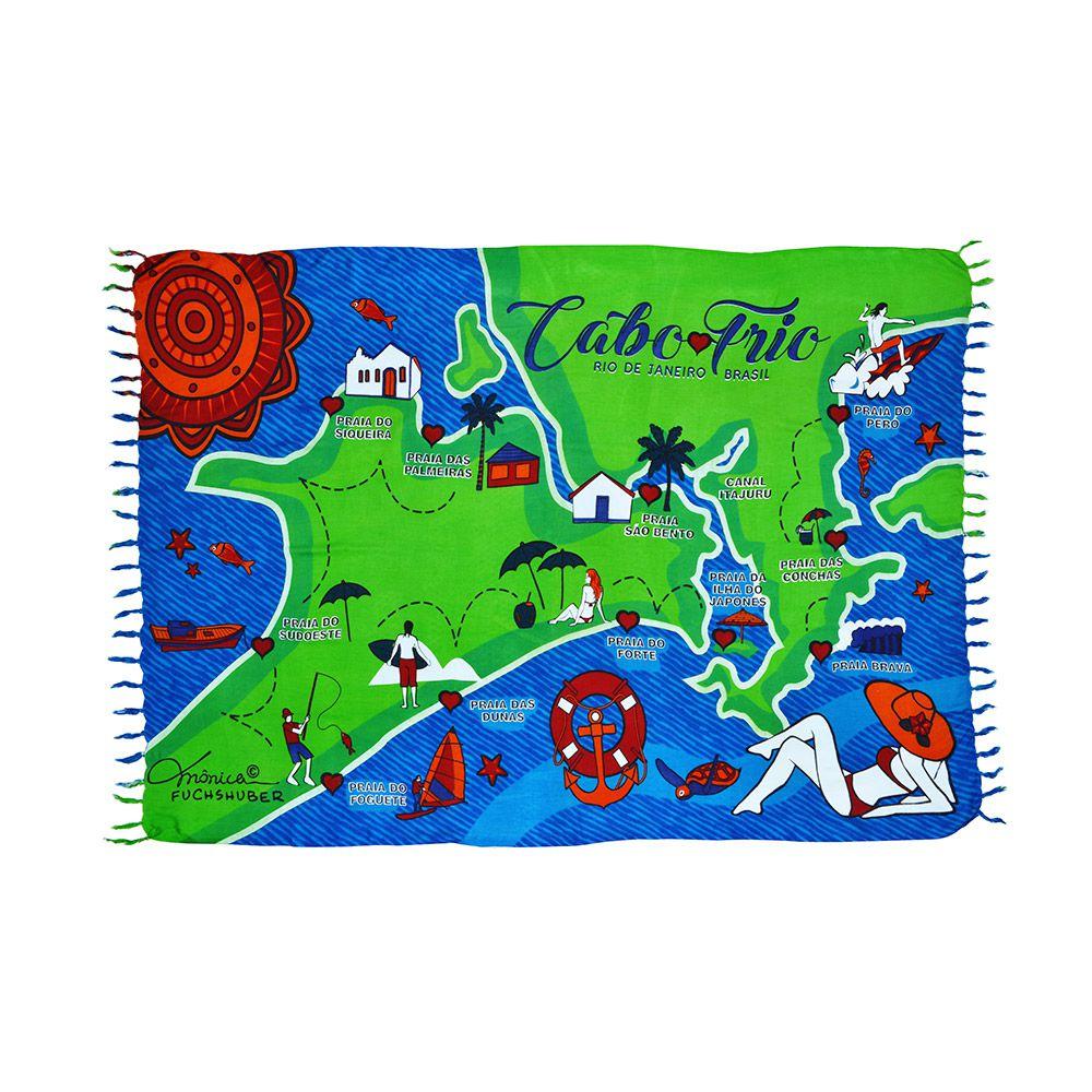 Canga Cabo Frio Mapa