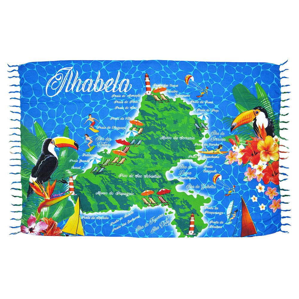 Canga Mapa Ilhabela
