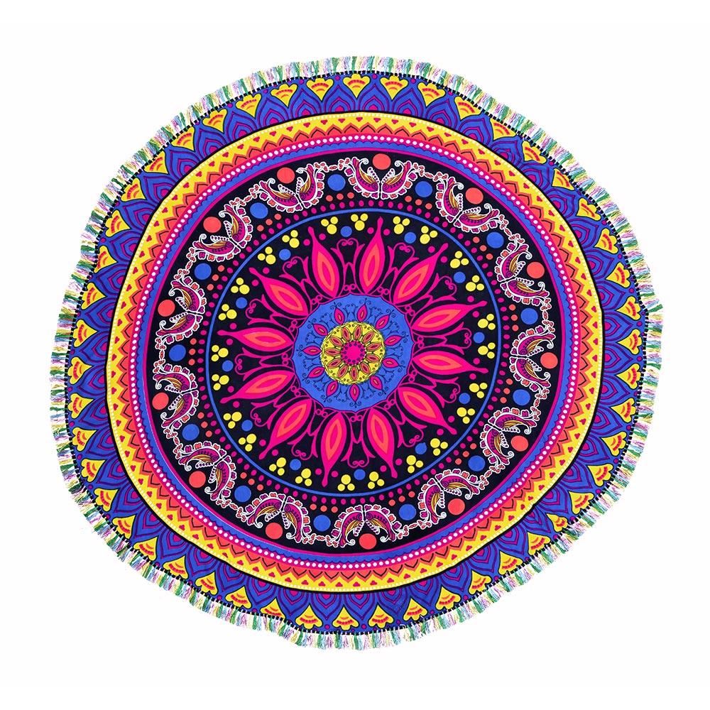 Canga Mini Mandala Com Tassel