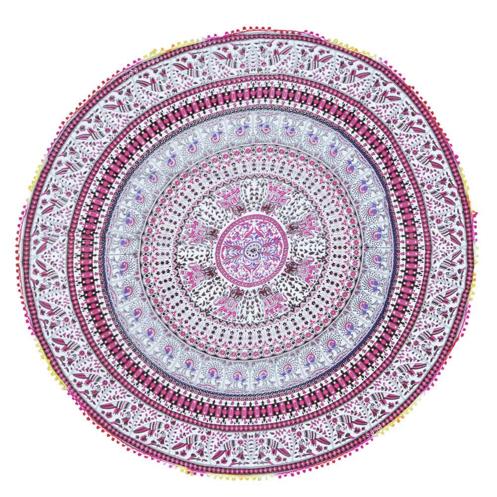 Canga Redonda Mandala Rainbow