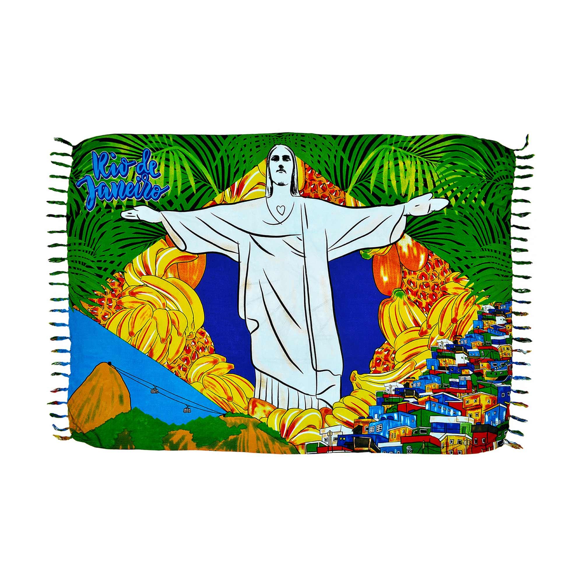Canga Rio de Janeiro Bandeira