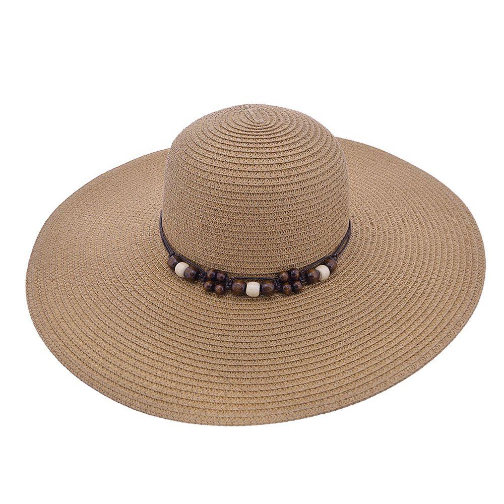 Chapéu De Praia Cordão Com Bolhinhas