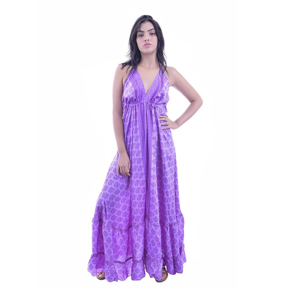 Vestido Indiano Lilás