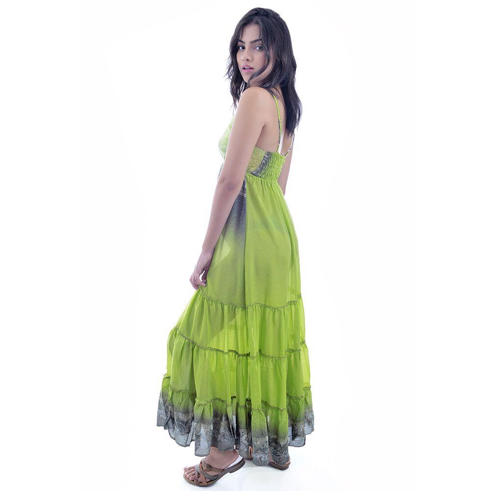 Vestido Indiano Verde II