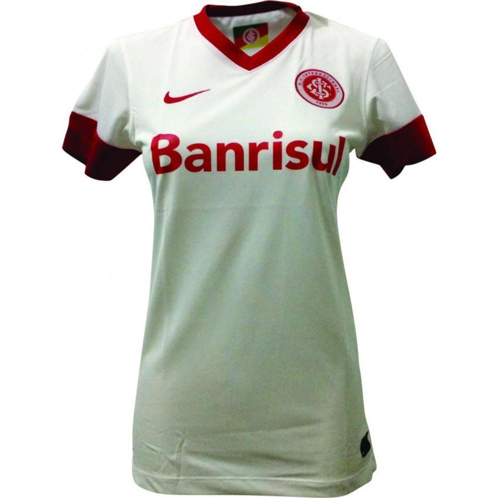 56e77a27f Camisa Do Internacional Feminina Torcedor Branca - Sandra Presentes ...