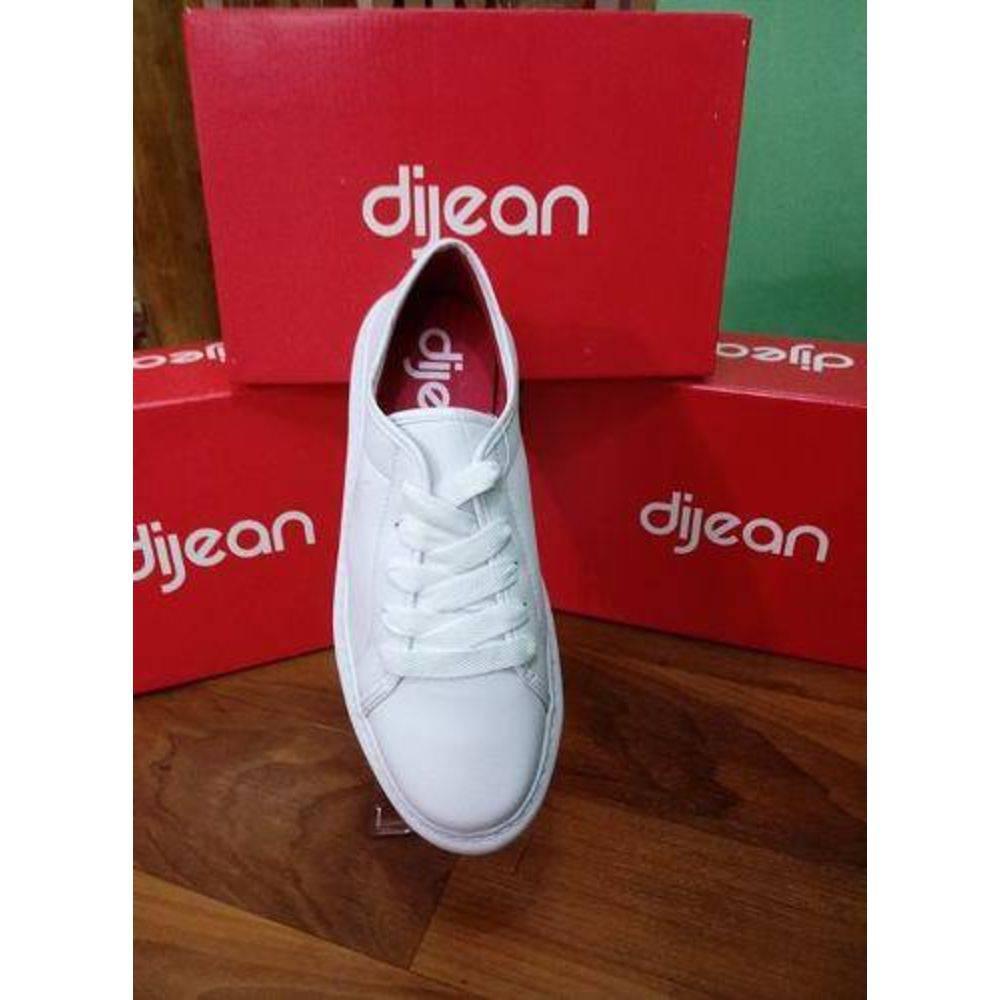 70324161c5 Tênis Dijean - Napa Branco - Sandra Presentes e Utilidades