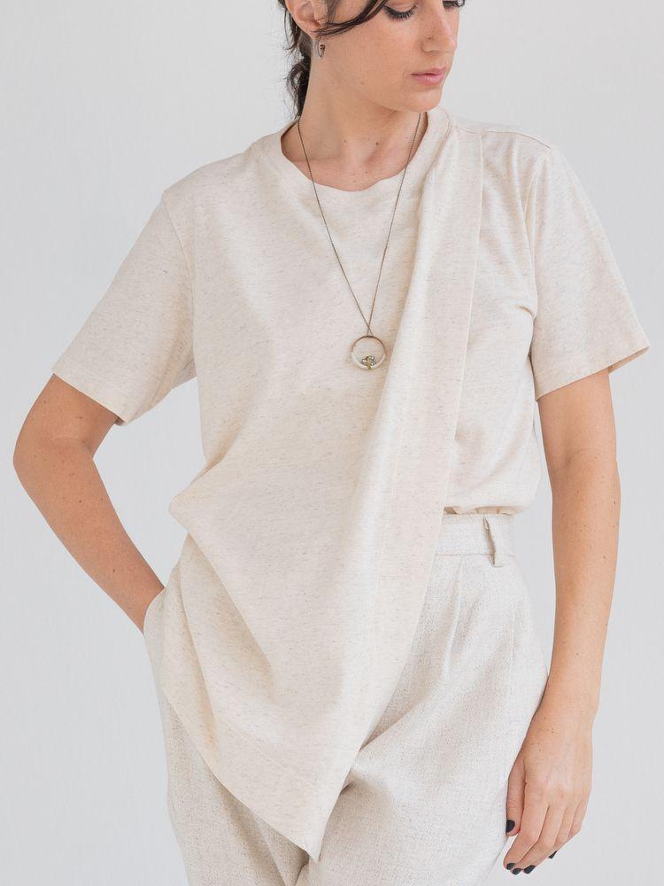 Camiseta Natural Linen