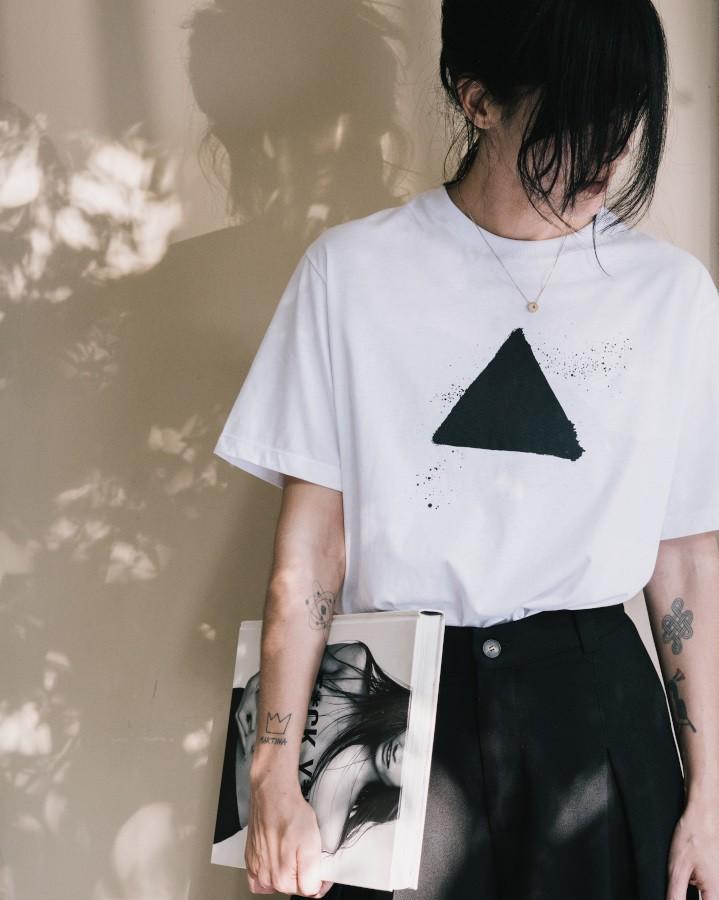 Camiseta Trilátero