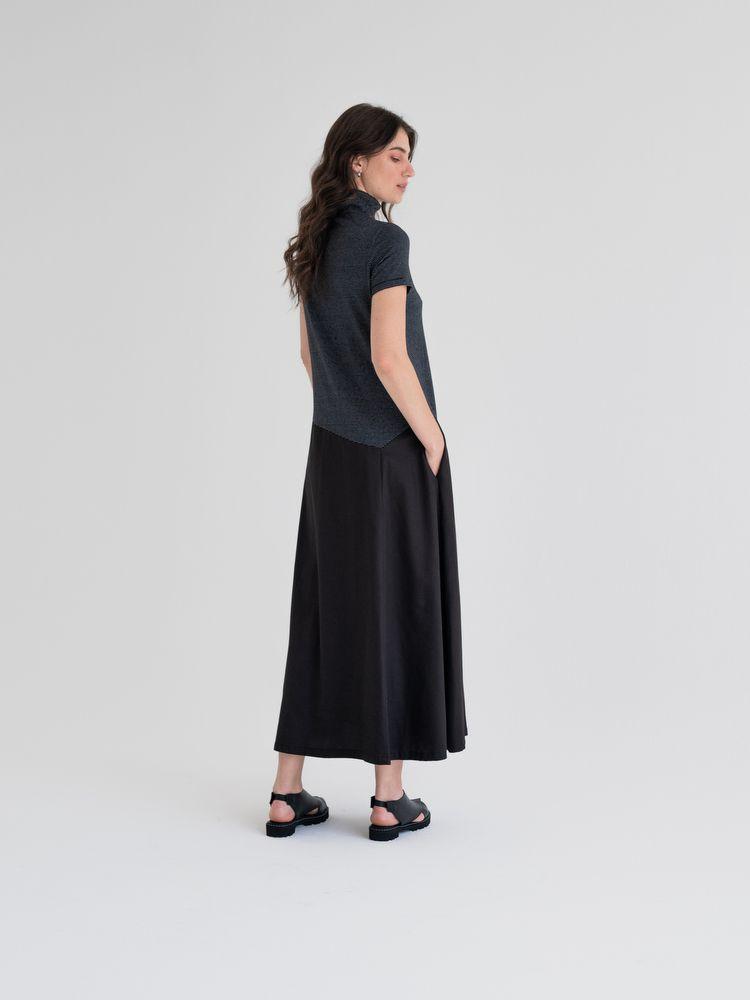 Vestido  Silêncio Longo