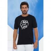 Camiseta Masculina Child of God - Preta- Soul da Paz