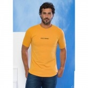Camiseta Masculina Holy Spirit - Amarela - Soul da Paz