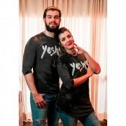 Camiseta Yeshua Unissex - Cinza - Soul da Paz