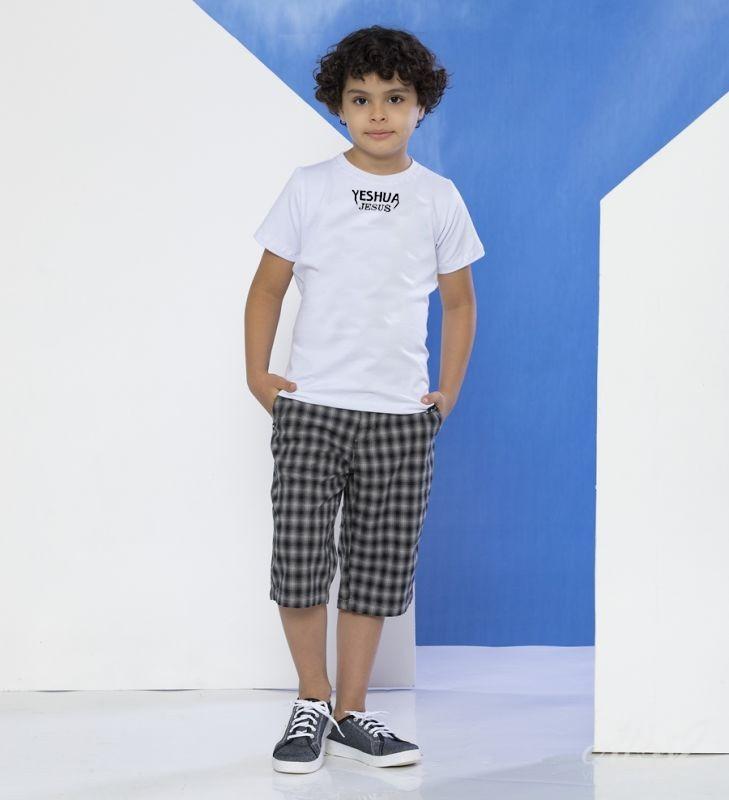 Camiseta Jesus Yeshua - Infantil - Branca - Soul da Paz