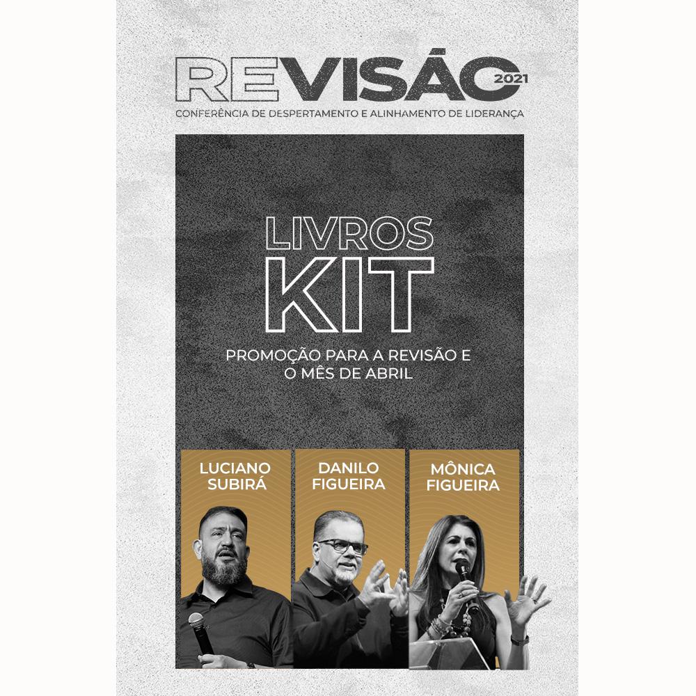 Kit Revisão 21 - Danilo Figueira | Luciano Subirá | Mônica Figueira