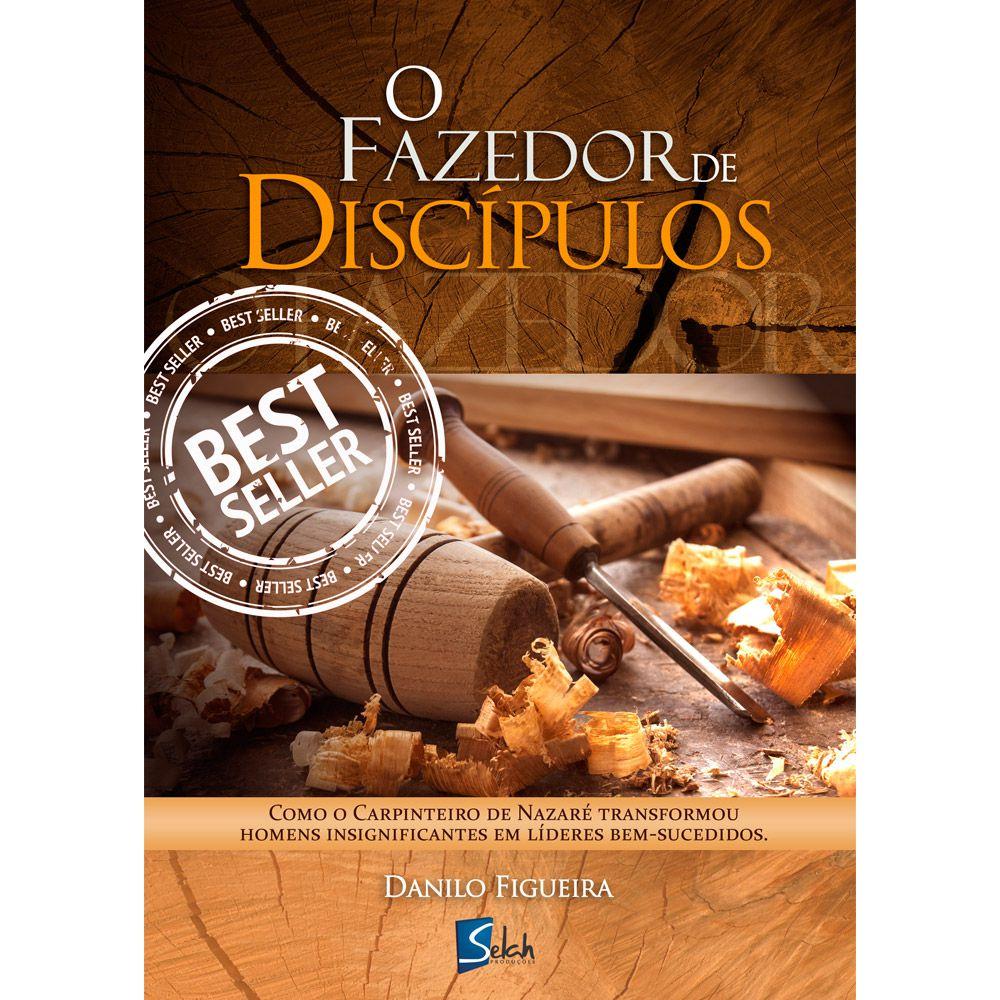 Livro O Fazedor de Discípulos - Atacado - Danilo Figueira 24 unidades
