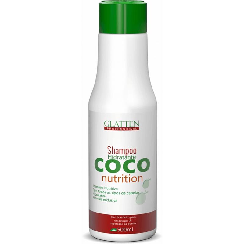 56dd81494 Glatten Coco Nutrition - Shampoo de Nutrição 500 ml